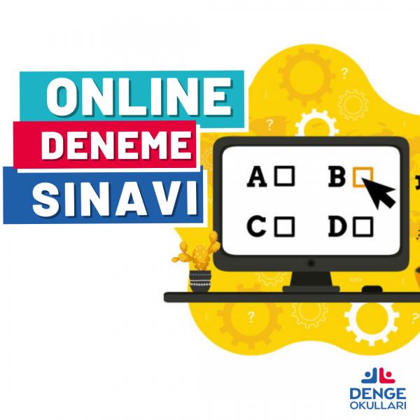 DENGE'DE ONLINE DENEME SINAVI DEVAM EDİYOR!