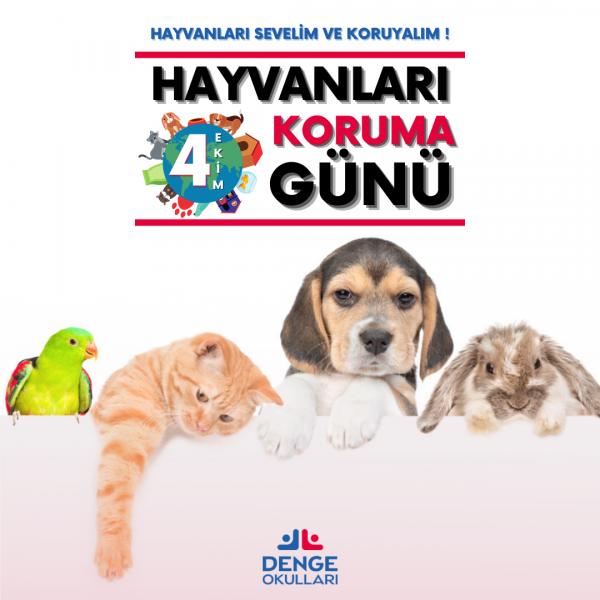 4 Ekim Hayvanları Koruma Günü Kutlu Olsun !