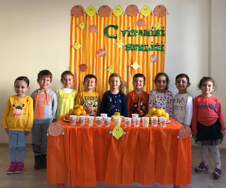 Özel Denge Koleji Anaokulu olarak C vitamini şenliğimizi yaptık.
