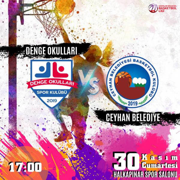 İzmir Özel Denge Okulları Kız Basketbol Takımı 5. Maçına çıkıyor.