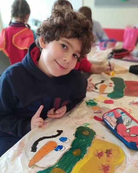 Denge Okullarının Mini Mini Birleri Yılbaşı Temalı Çalışmaları