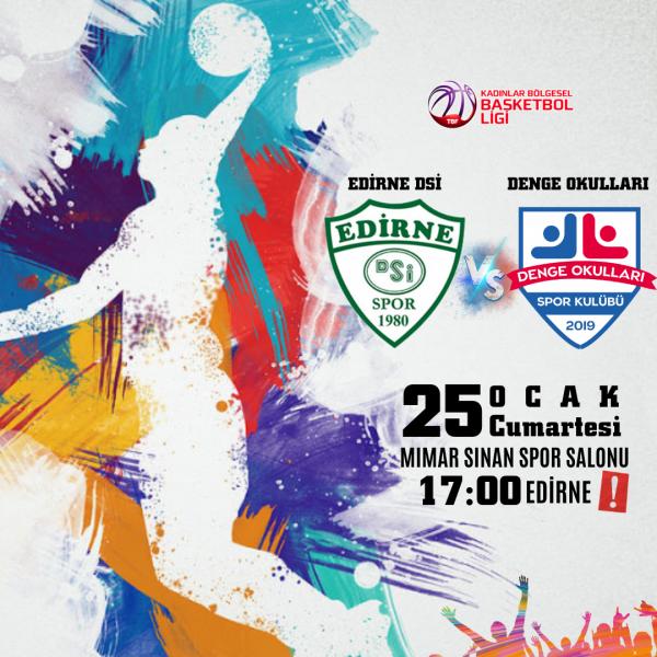 Denge Okulları Kadınlar Basketbol Takımının 12. Hafta Maçı