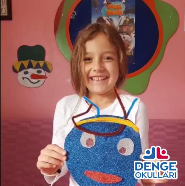 Denge Okulları İlkokul çocuklarımızın #evdekal çağrısı !!