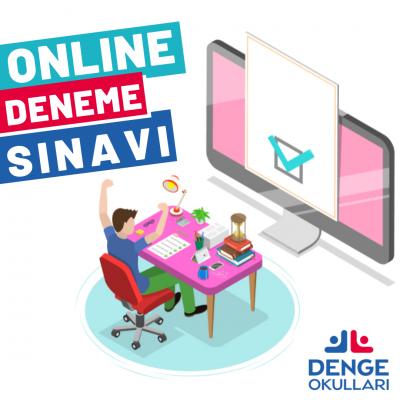DENGE'DE ONLINE DENEME SINAVI!