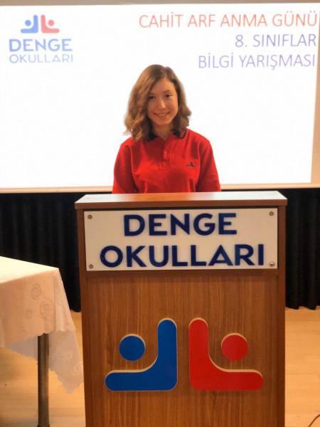 Ünlü Türk Matematikçi Cahit Arf'ı Anma Haftasında Denge Okulları Bilgi yarışması nefes kesti..