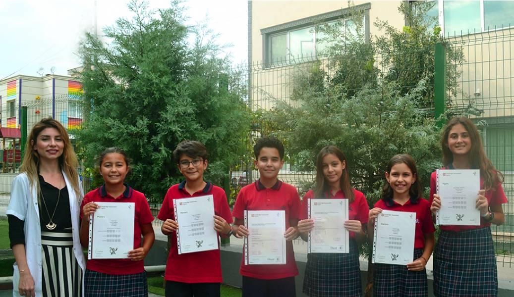 Denge Okullarında Cambridge Sınavları Dünya Vatandaşı Denge'lileri Alkışlıyor!