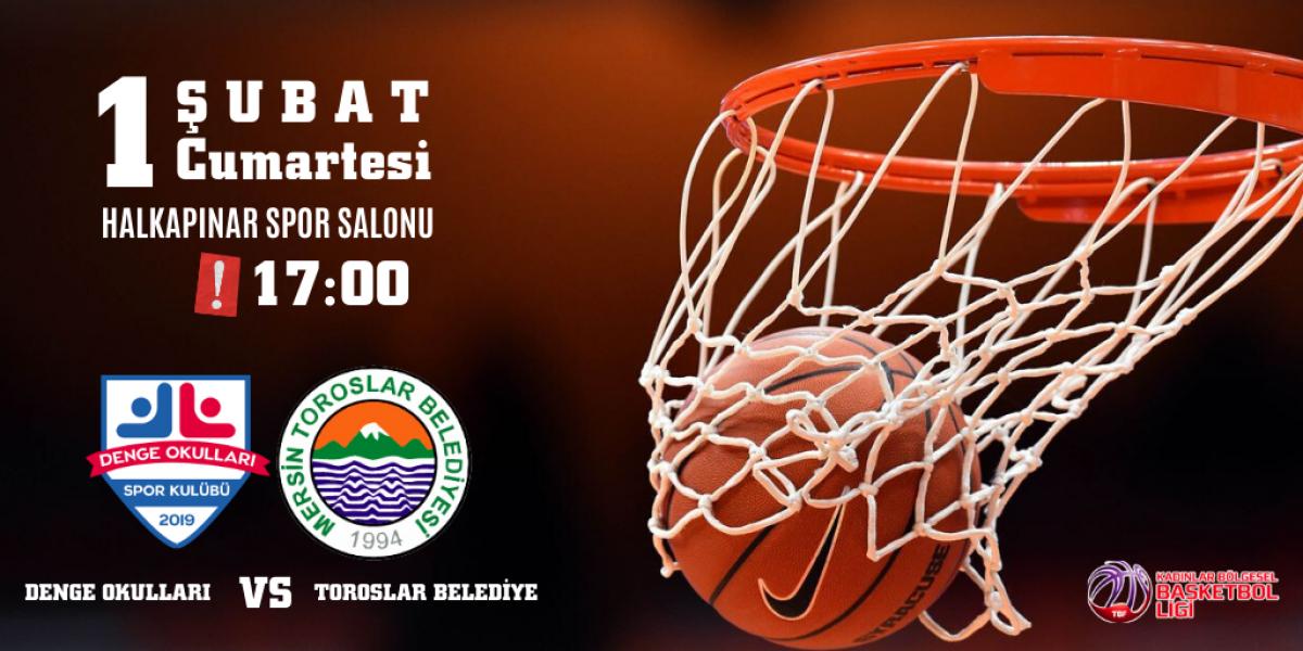 Denge Okulları Kadınlar Basketbol Takımının 13. Hafta Maçı